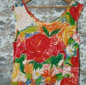 Vintage 90s Jams World floral dress